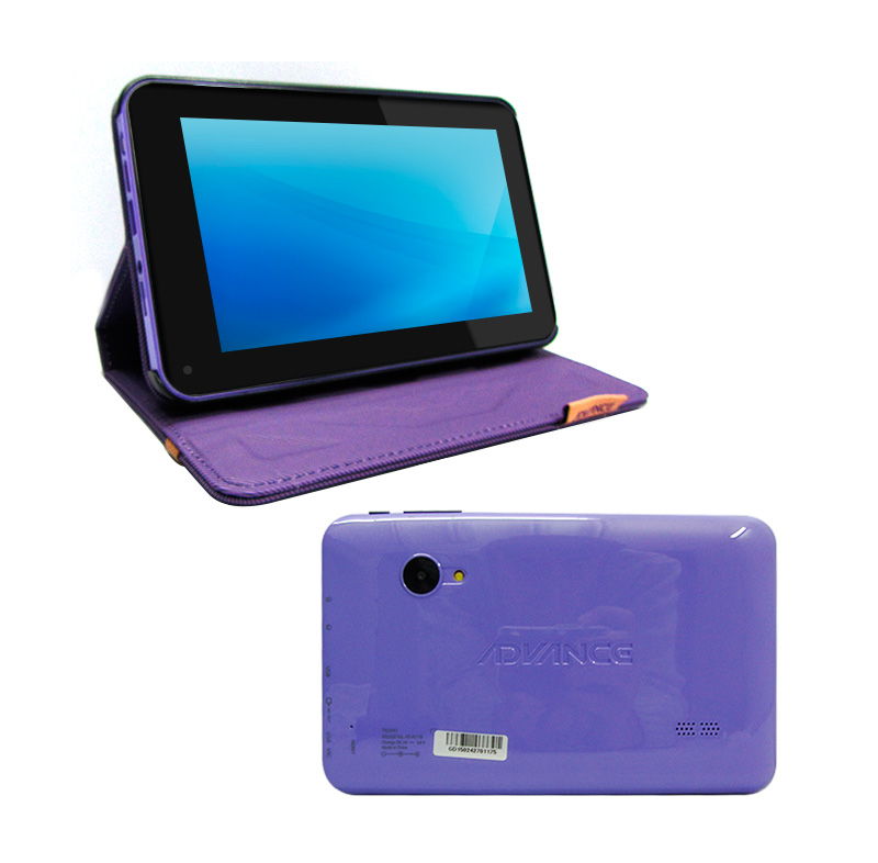 "Tablet Advance Athenas TH5447 7"" + Funda Lila"